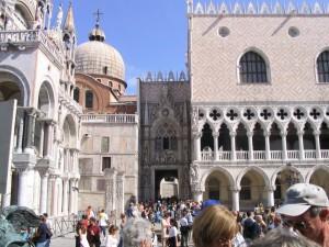 palazzo ducale,e la basilica di san marco-Venezia