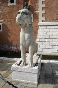 Venezia-Arsenale-Leone greco (da Delo, sec. VI aC)