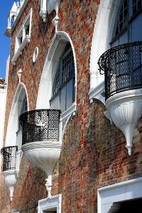 Venice,Giudecca ,The House of the Three Eyes