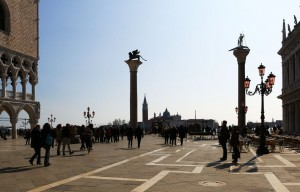 the two columns-St Marco Square