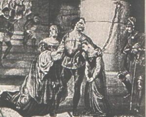-esecuzione.di carmagnola-ilustrazione  ottocentesca