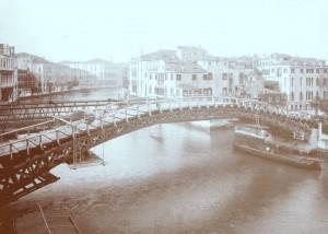 ponte del accademia 1933