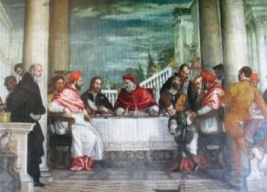 Veronese-cena di san Gregorio Magno