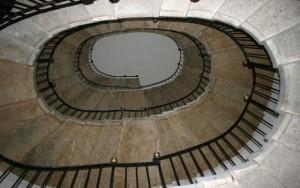 scala ovale del Sardi Chiesa dell' ospedaletto